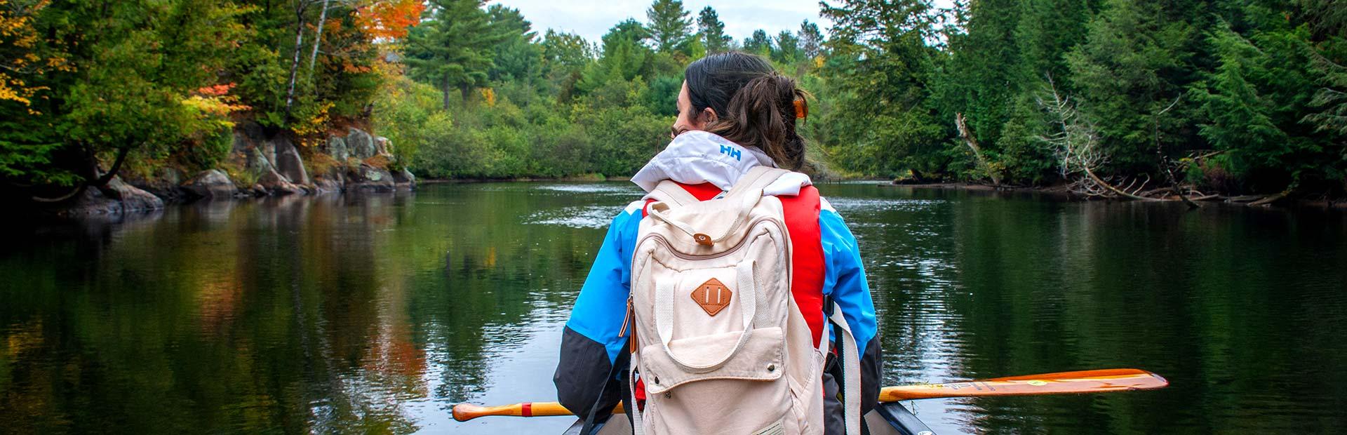 Algonquin Park canoeing