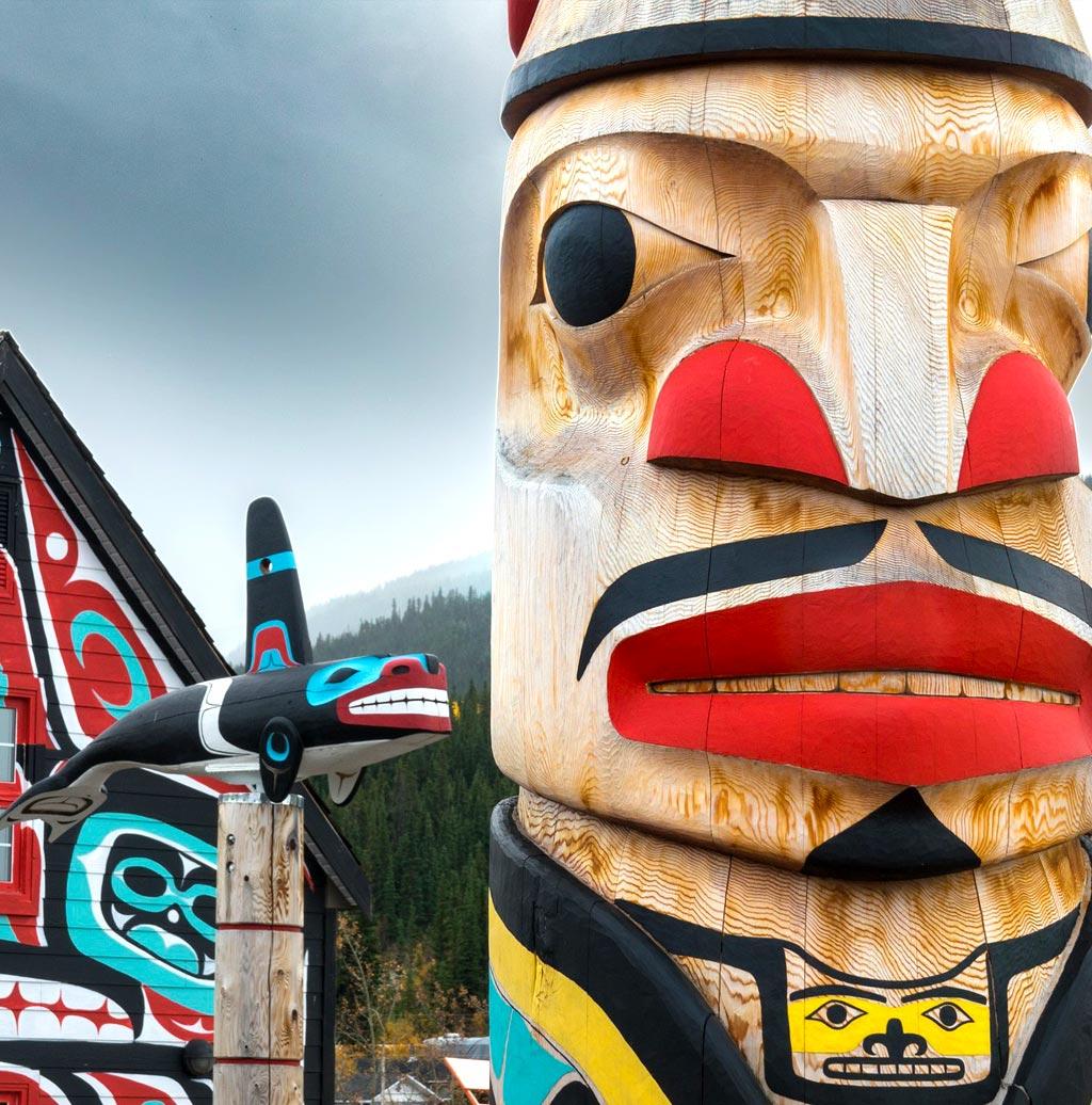 British Columbia - totem