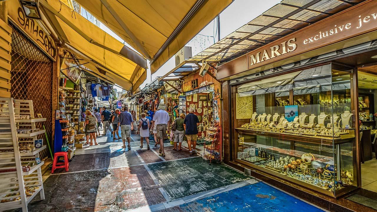 Outdoor Market, Athens, Greece